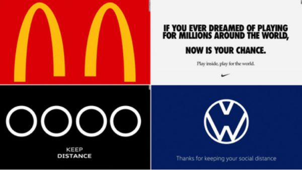 We loved some of these rebranding ideas to help promote social distancing